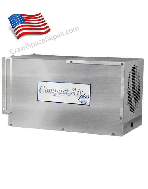 Crawl space dehumidifier compact air plus cap 200 for American crawlspace reviews