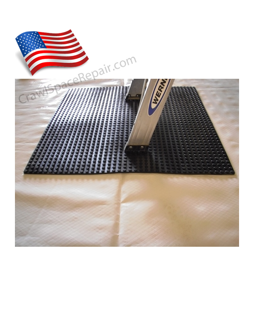 Crawl space landing mat lnd mat for American crawlspace reviews