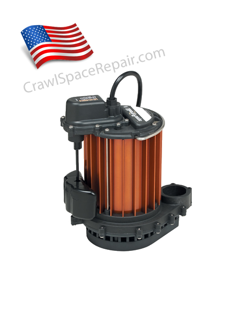 Crawl space sump pump by liberty lbt 237 for American crawlspace reviews
