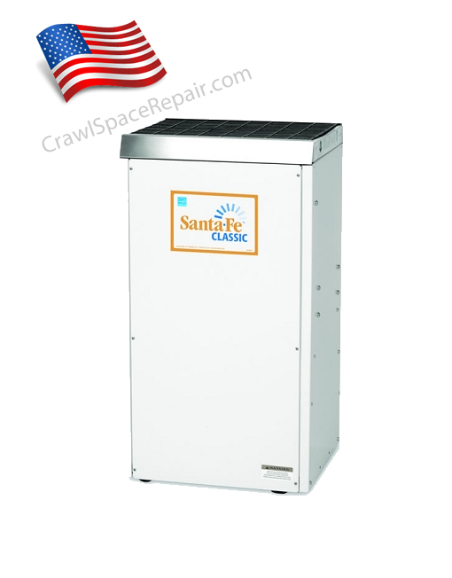 Santa fe classic basement dehumidifier sf cls for American crawlspace reviews