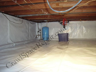 Conditioned Crawl Space