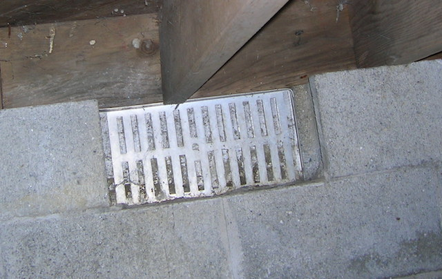 Crawl Space Vent