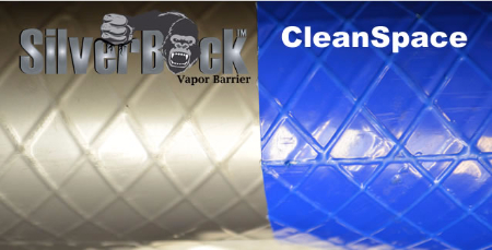 CleanSpace vs SilverBack Crawl Space Vapor Barrier