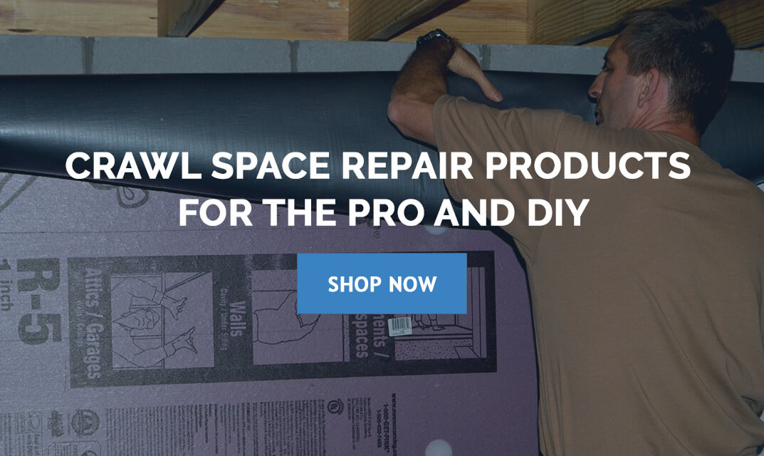 Crawl Space Encapsulation Supplies