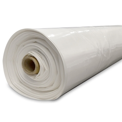 10 Mil White Non-reinforced  crawl space liner, crawl space vapor barrier, crawl space plastic, white crawl space liner, crawl space material