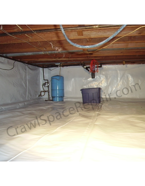 "12 Mil GuardianLiner™ 3/' 8/"" x 75/' Crawl Space Vapor Barrier"