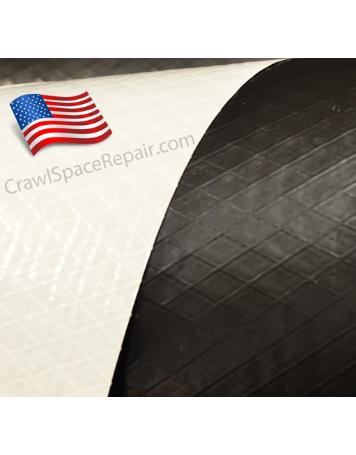 White Crawl Space Liner