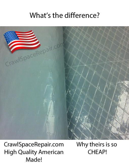 Vapor Barrier 20 Mil Crawl E Encapsulation Liner
