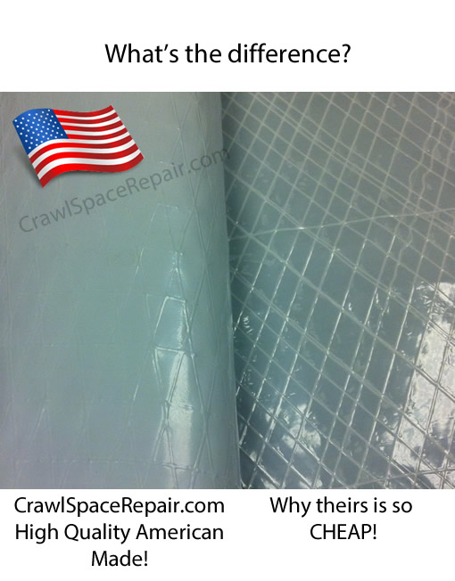 20 Mil Crawl Space Quality Liner