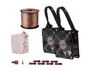 Fan Kit, FanPak™ for the Moisture Medic crawl space fan, crawl space fan pack