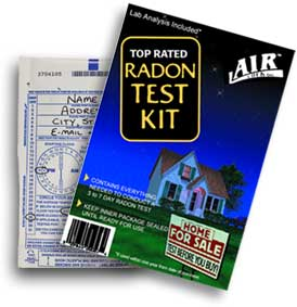 Crawl Space Radon Test Kit