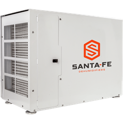 Santa Fe Advance 100 Santa Fe advanced Dehumidifier, Santa Fe 100, Crawl space dehumidifier